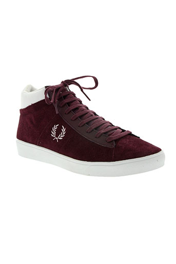 fred perry chaussures homme de couleur violet