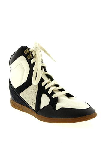 le coq sportif chaussures femme de couleur beige