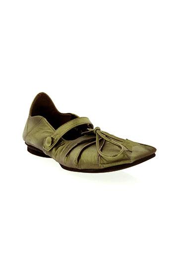 ippon styl chaussures femme de couleur vert