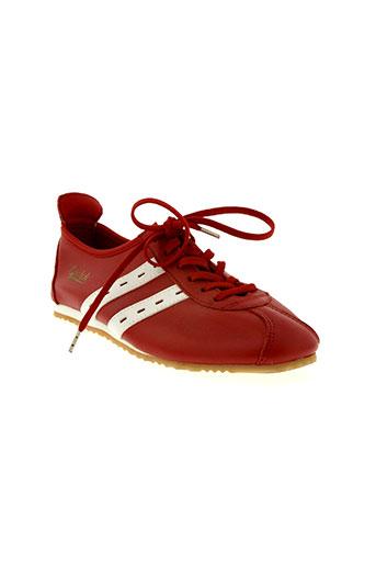 quick chaussures femme de couleur rouge