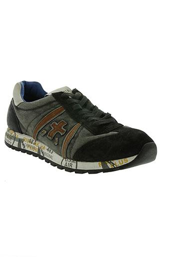 premiata chaussures homme de couleur gris
