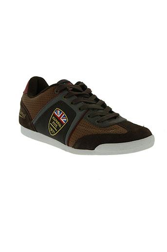 kaporal chaussures homme de couleur marron