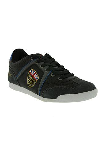 kaporal chaussures homme de couleur noir