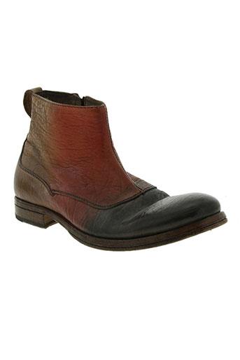 moma chaussures homme de couleur marron