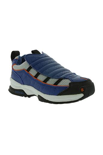 royal elastics chaussures garçon de couleur bleu