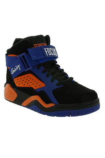 patrick ewing chaussures homme de couleur bleu
