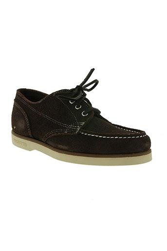 sebago chaussures femme de couleur marron