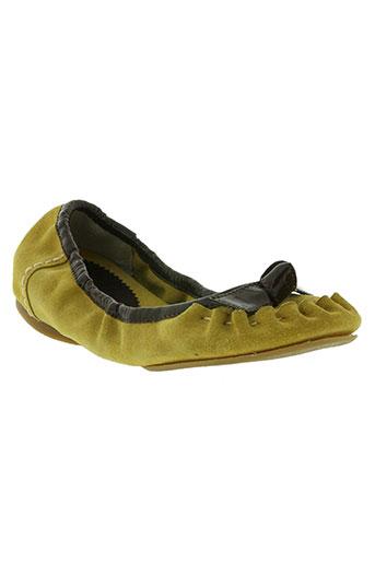 killah chaussures femme de couleur jaune