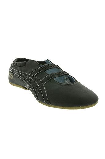 onitsuka tiger chaussures femme de couleur gris
