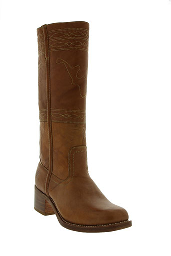 frye chaussures femme de couleur marron