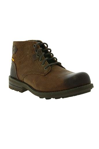cat chaussures femme de couleur marron
