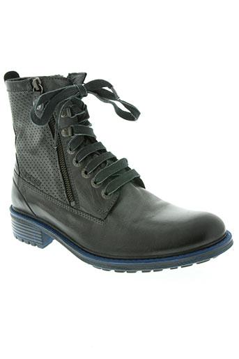 ikks chaussures homme de couleur noir