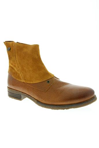 coqueterra chaussures homme de couleur marron