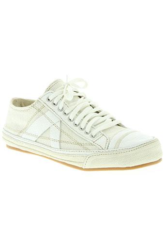 pf-flyers chaussures femme de couleur beige