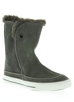 Bottines/Boots gris CONVERSE pour femme