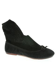 Chaussons/Pantoufles noir THE FRENCH TOUCH pour femme