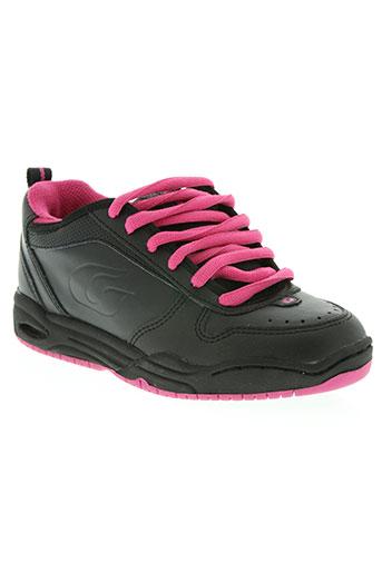 gallaz chaussures femme de couleur noir