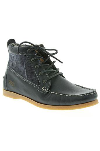 ap chaussures homme de couleur bleu