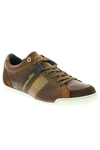 pantofola d'oro chaussures homme de couleur marron
