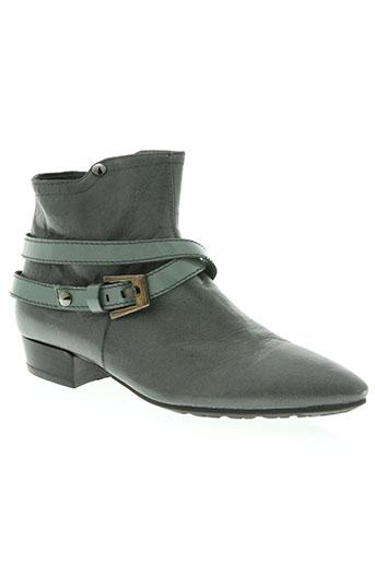 vic matie chaussures femme de couleur gris