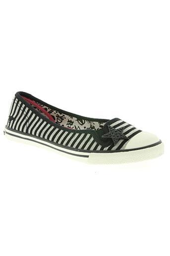 rock et dog chaussures femme de couleur gris