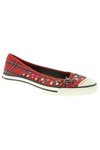 rocket dog chaussures femme de couleur rouge