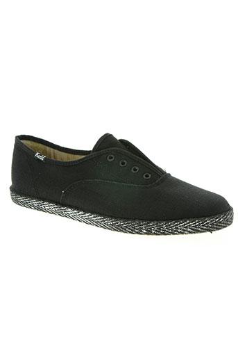 keds chaussures femme de couleur noir