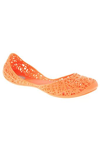 melissa chaussures femme de couleur orange