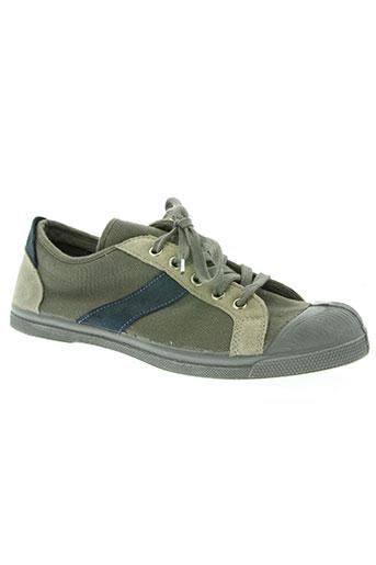 bensimon chaussures homme de couleur gris
