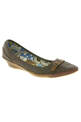 pf-flyers chaussures femme de couleur marron