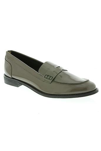 mms chaussures femme de couleur gris