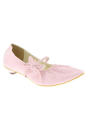 carla chaussures femme de couleur rose