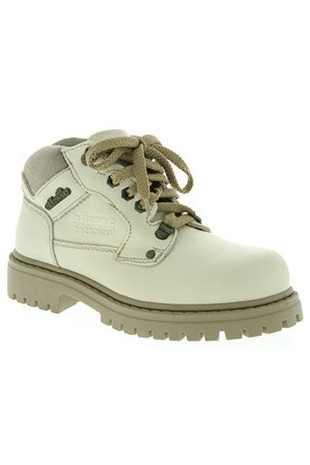 ellesse chaussures femme de couleur beige