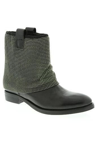 donna modello chaussures femme de couleur noir