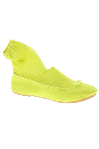 Ballerines vert THE FRENCH TOUCH pour femme