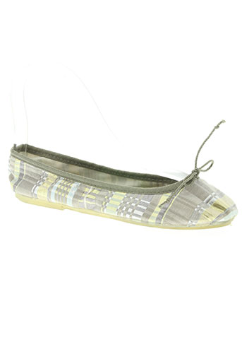 Chaussons/Pantoufles gris BILL TORNADE pour femme