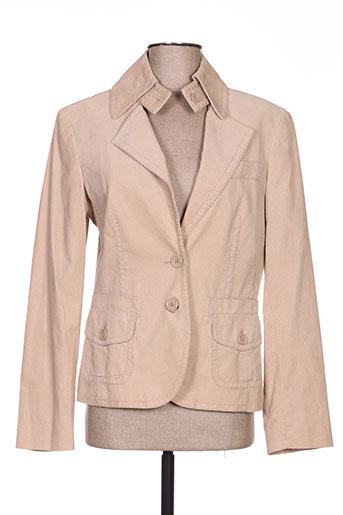 Veste chic / Blazer beige ESPRIT pour femme