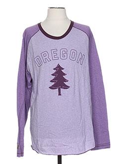 T-shirt manches longues violet NIKE pour homme
