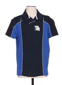 Polo manches courtes bleu ENERGIE pour homme