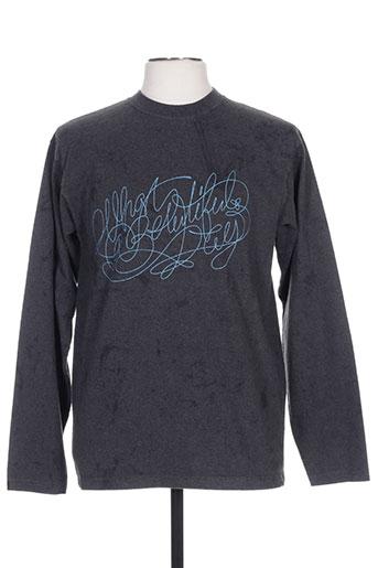 kulte t-shirts homme de couleur gris