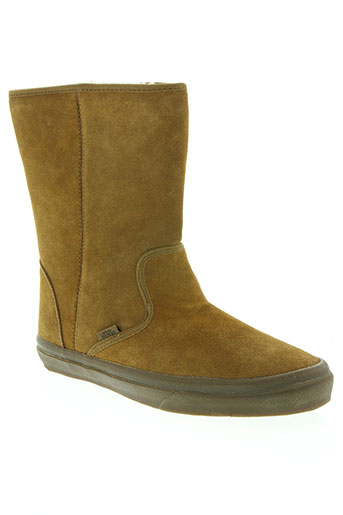 vans chaussures femme de couleur beige