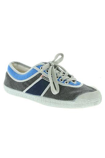 kawasaki chaussures homme de couleur gris