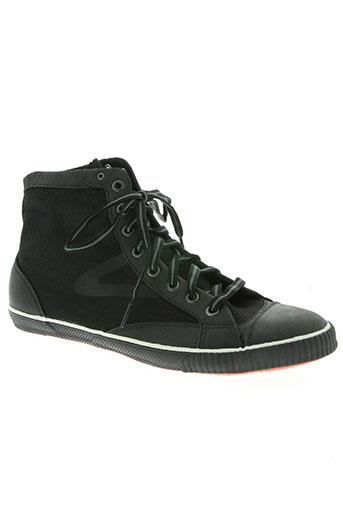 tretorn chaussures femme de couleur noir