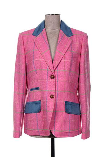 bariloche vestes femme de couleur rose