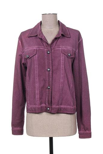 enjoy vestes femme de couleur violet