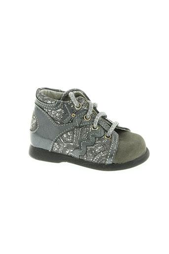 babybotte chaussures enfant de couleur gris