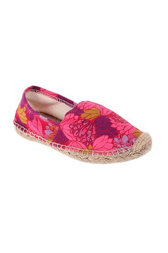 la fiancee du mekong chaussures femme de couleur rose