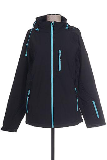 mountain wear by lilawadi vestes femme de couleur bleu