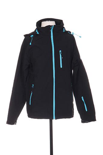 mountain wear by lilawadi vestes homme de couleur bleu