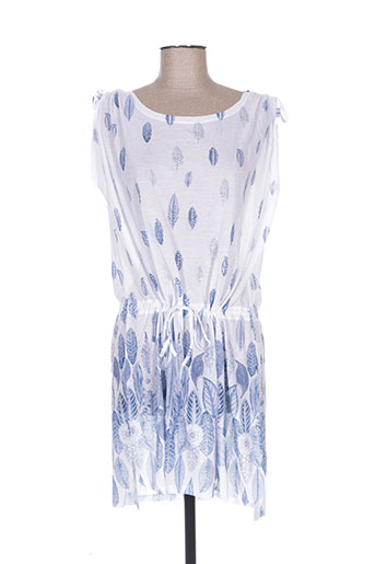 esprit de la mer robes femme de couleur bleu